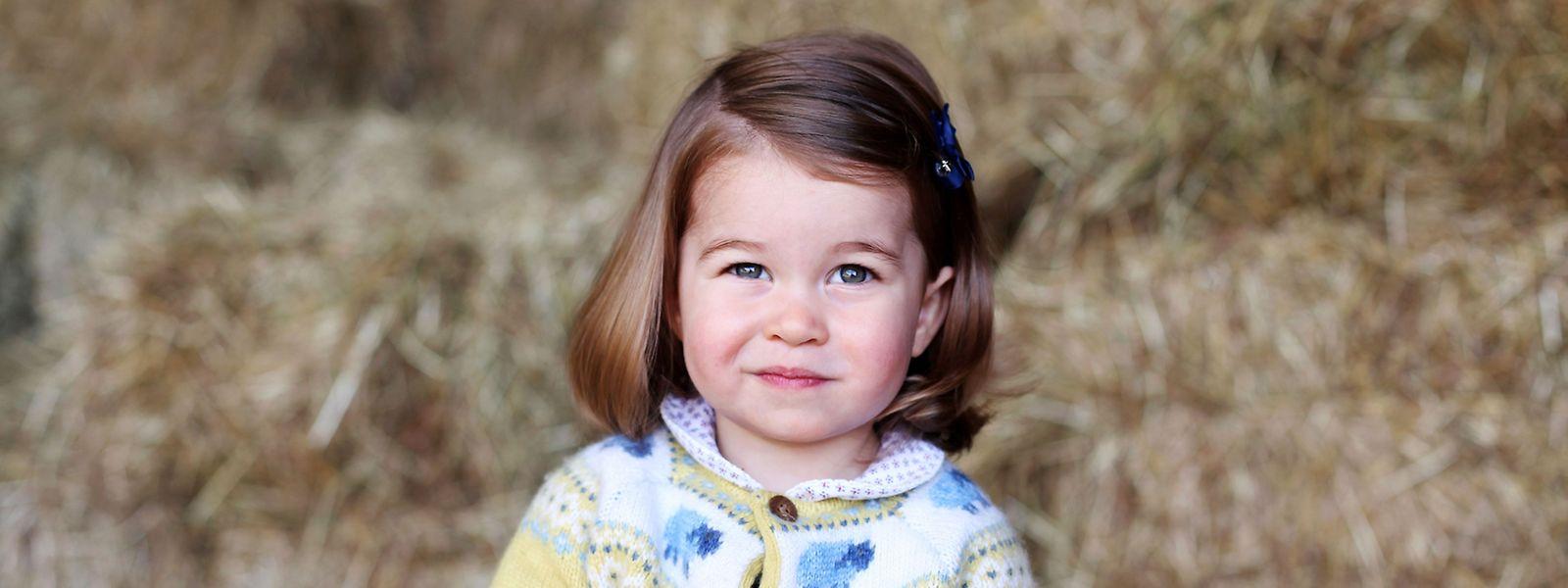 Charlotte ist das jüngste Mitglied der britischen Königsfamilie.