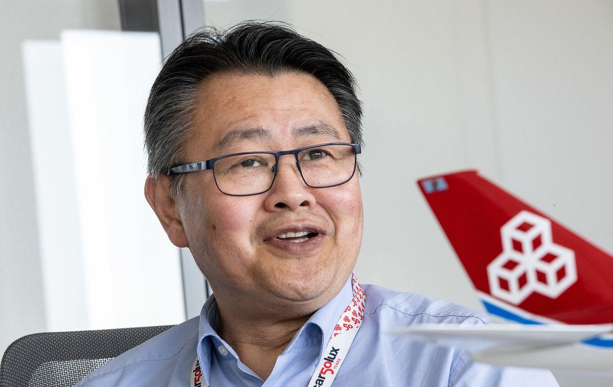 Cargolux CEO Richard Forson