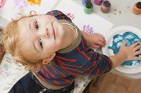 Stichwörter: Kind, Kinder, Betreuung, Kinderbetreuung, Crèche, Maison relais, Kindertagesstätte Chèques-Service, Sprachförderung / Foto: © Getty Images