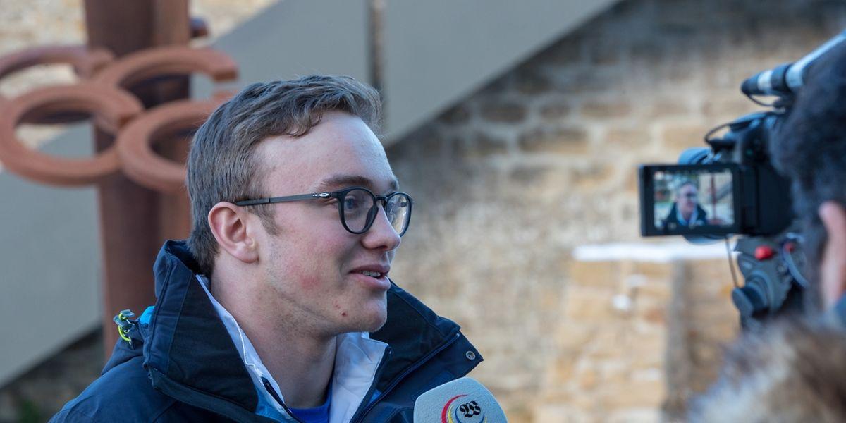 Matthieu Osch wird im Riesenslalom und Slalom starten.