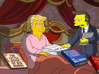 Donald Trump taucht nicht zum erten Mal in einer Simpsons-Folge auf.