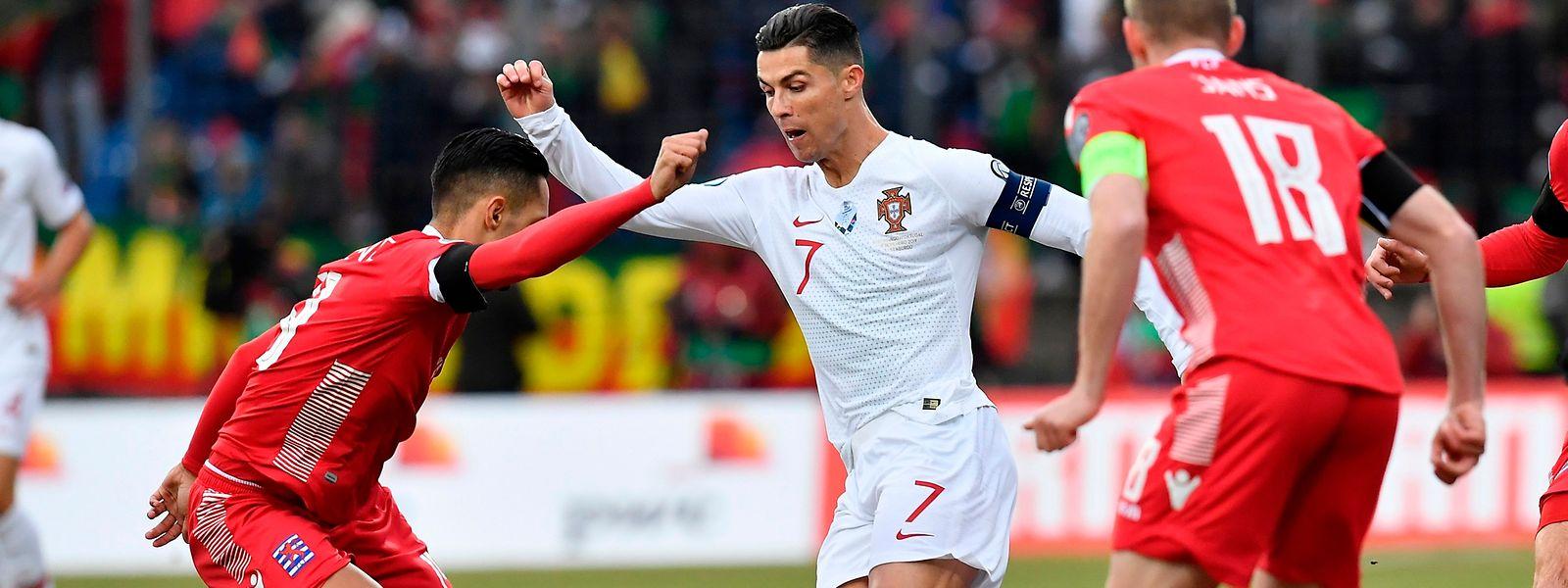 Cristiano Ronaldo devra encore attendre avant de fêter son 100e but en sélection.