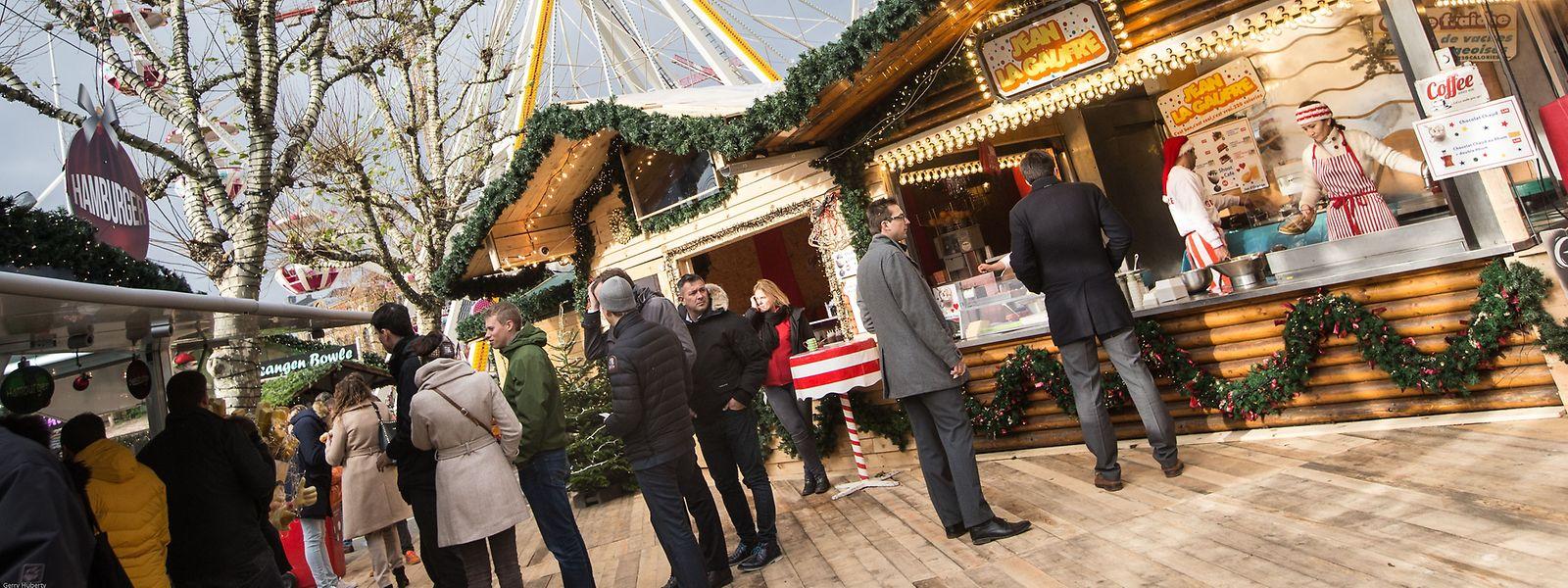In manchen Gemeinden sind die Weihnachtsmärkte bereits geöffnet.