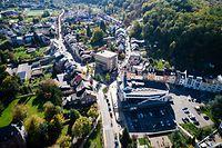 Ancienne et nouvelle  mairie Differdange - Aalt Stadhaus - Photo : Pierre Matgé