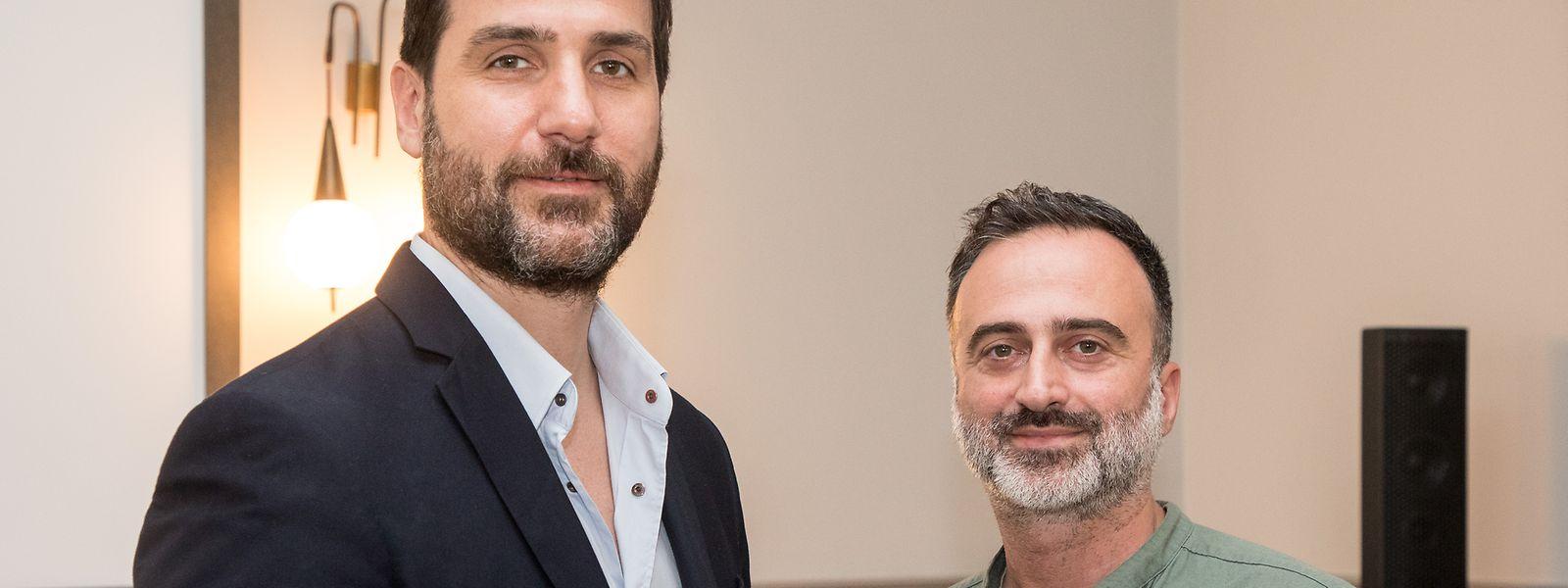 Laurent Hericord et Brice Erniquin respectivement administrateur et directeur commercial d'Avrox.