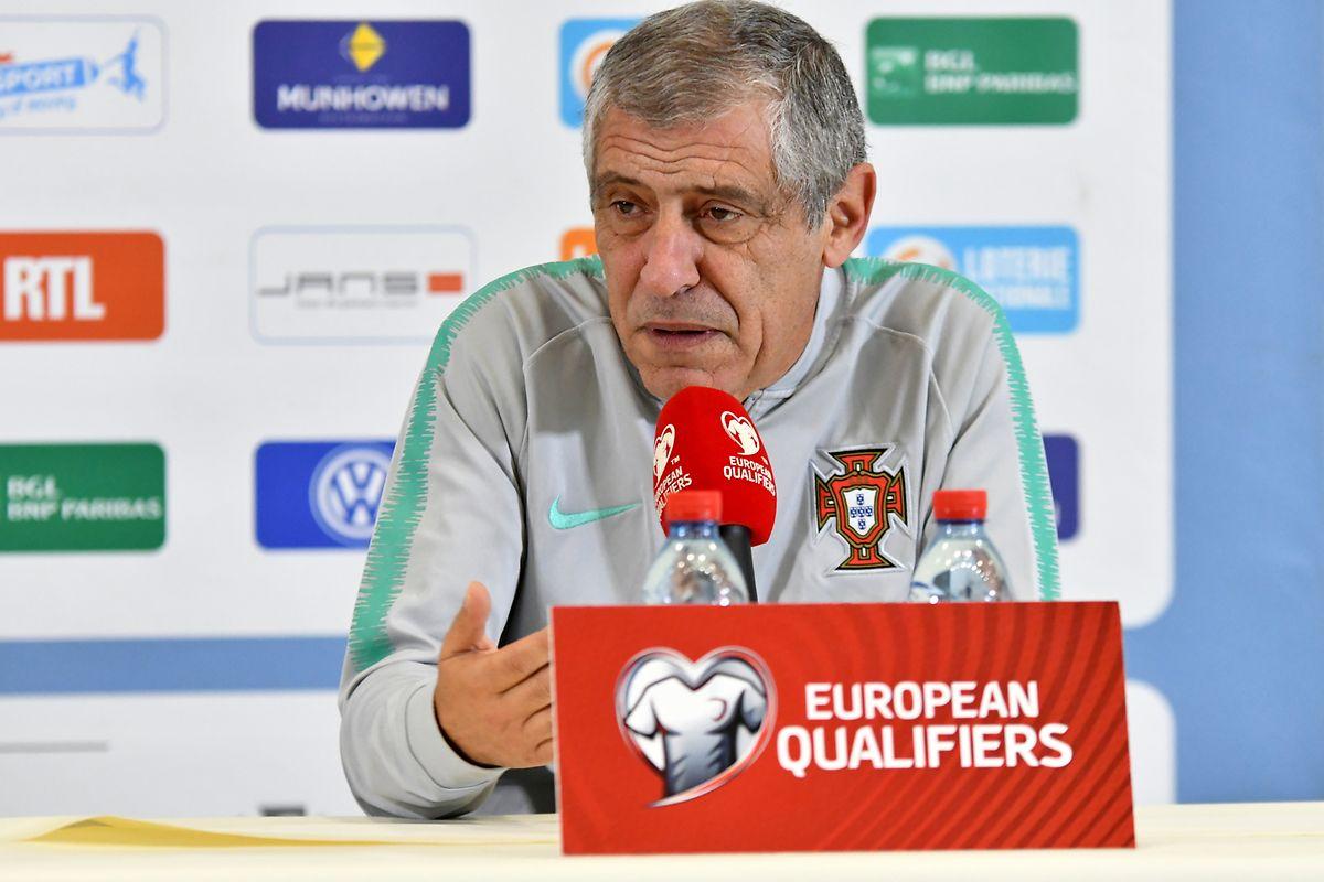 Fernando Santos attend de ses joueurs une victoire, histoire de valider le ticket du Portugal pour la phase finale de l'Euro 2020.