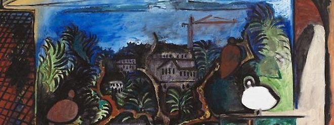 Tela de Picasso no Museu Nacional de História da Arte
