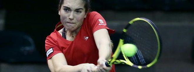 Eléonora Molinaro n'a pas traîné pour prendre son quart.