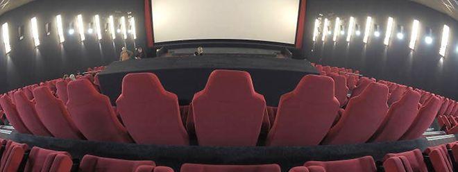 Der Première-Saal im Ciné Belval hat 540 Sitze und die größte Leinwand weit und breit.