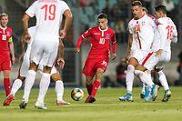 Vincent Thill (Luxemburg – 10) / Fussball, Qualifikation Europameisterschaft 2020, Gruppe B, Spieltag 6 / 10.09.2019 / Luxemburg – Serbien / Stade Josy Barthel / Foto: Yann Hellers
