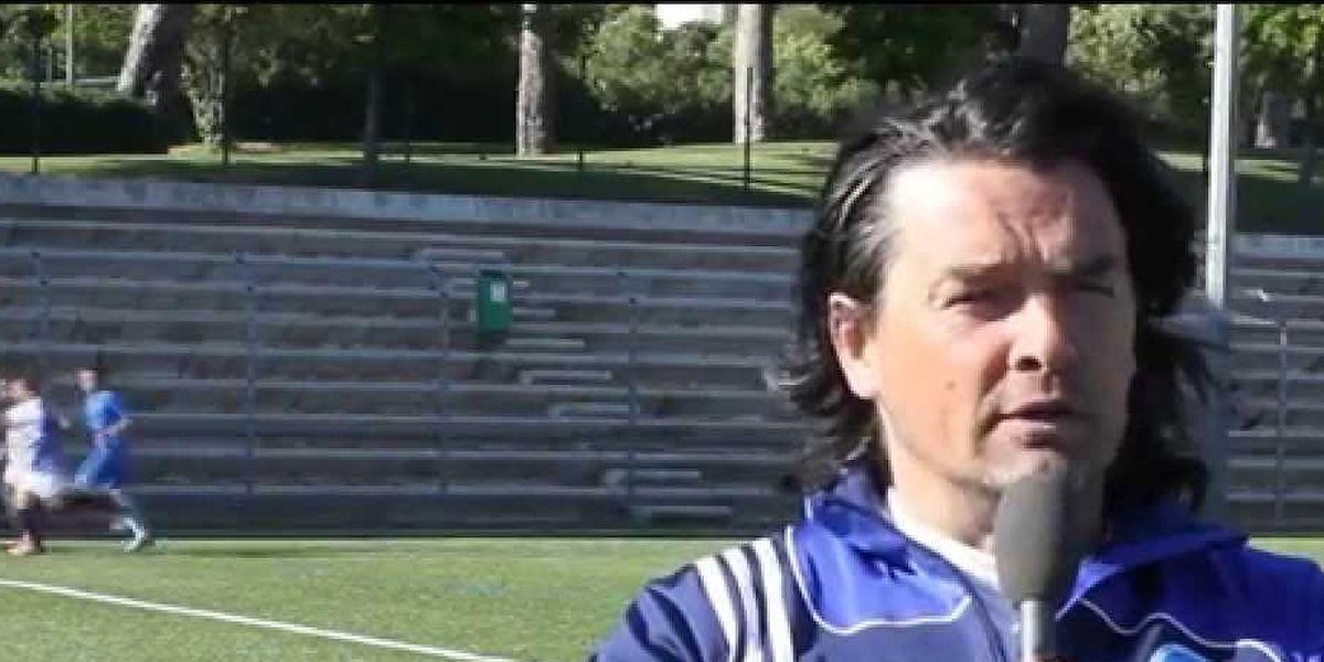 Frédéric Meyrieu est aujourd'hui entraîneur bénévole dans sa ville de Toulon, au Racing Football Club.