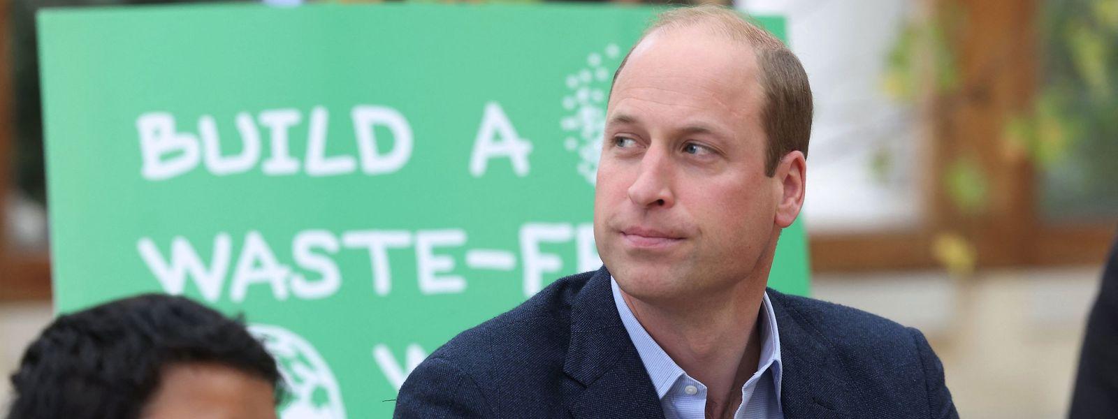 Prinz William setzt sich wie sein Vater Charles für die Umwelt ein.