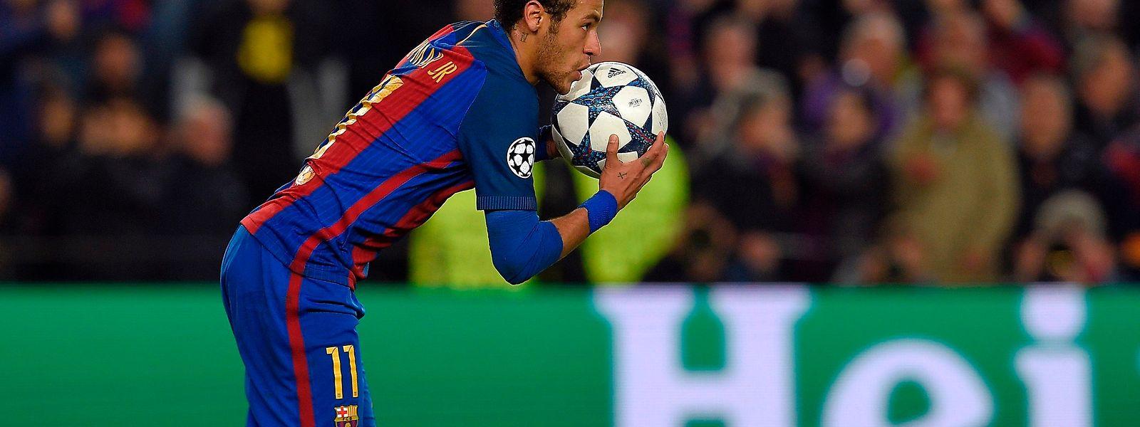 Neymar e o Barcelona dão a volta à eliminatória