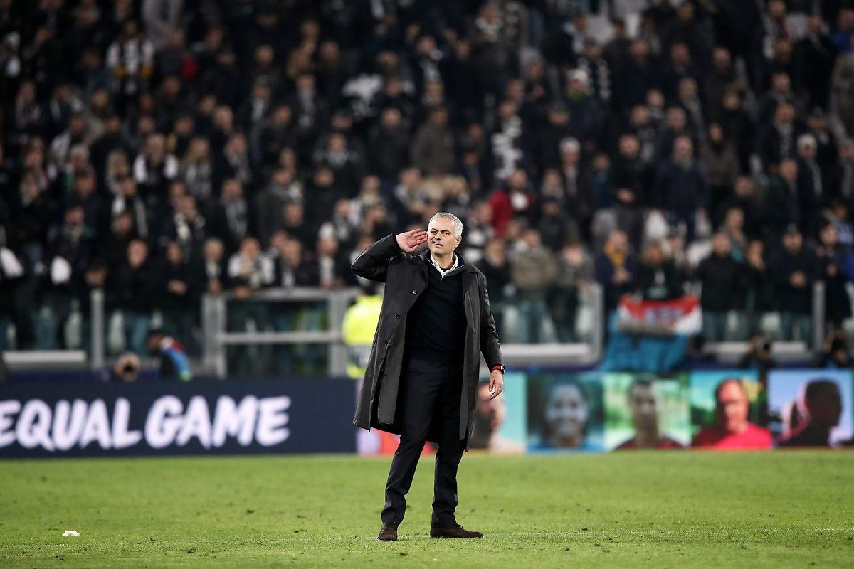 José Mourinho wusste sich wieder einmal nicht zu benehmen.