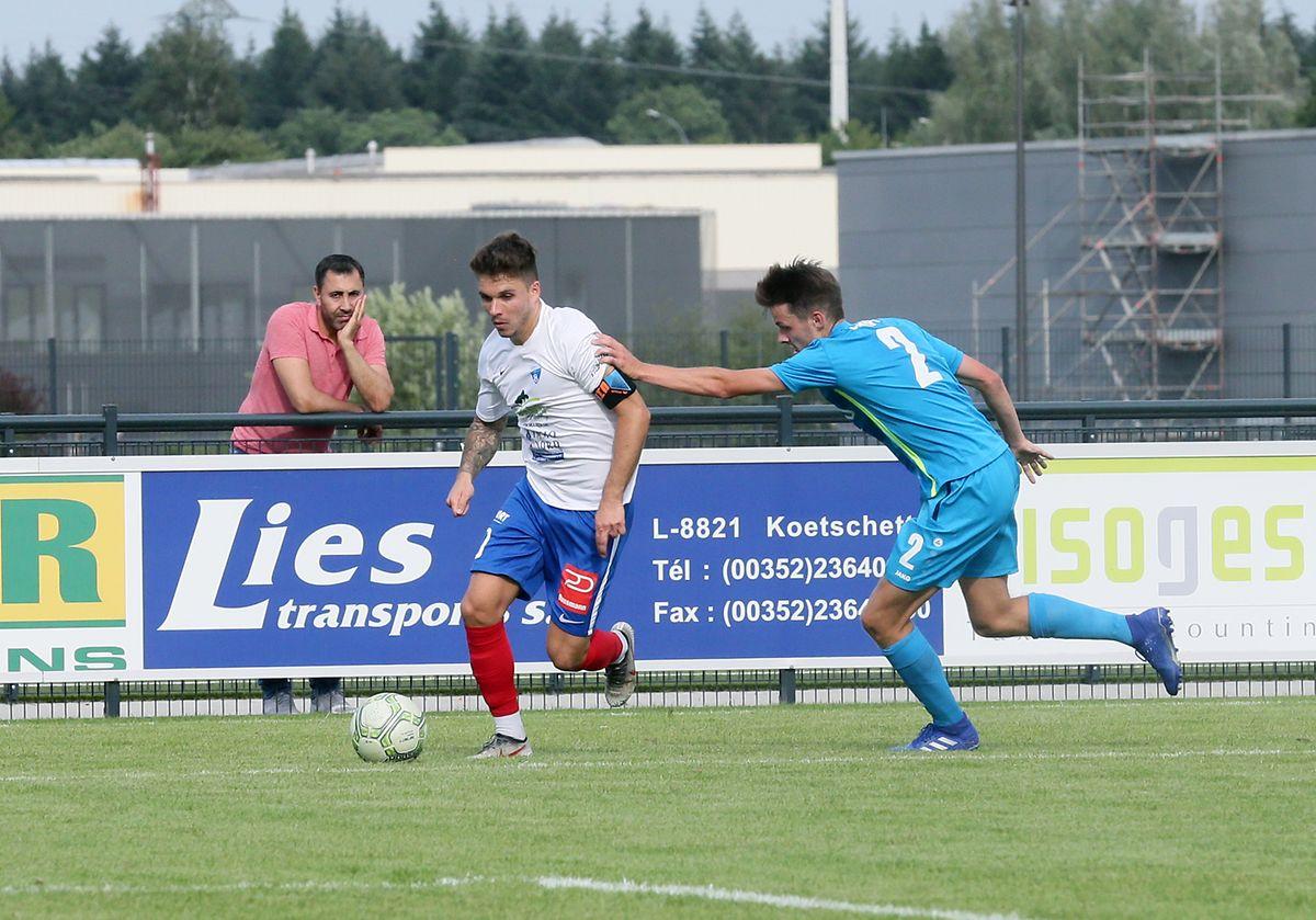 Kevin Holtz et les Ettelbruckois ont lancé leur saison en décrochant la Coupe de la Ligue face au F91.