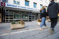 Schliessung von Sparkassenfilialen,BCEE,hier:Belair,av. du X Septembre.Foto:Gerry Huberty