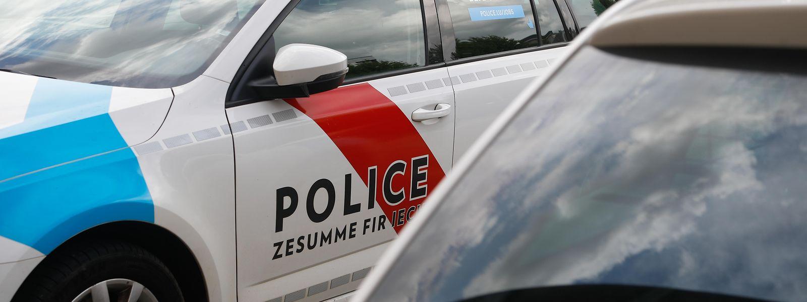Die Polizei musste sich am Samstag von einem betrunkenen Autofahrer Beleidigungen anhören.