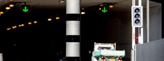 """Das Radargerät an der """"Liaison Micheville"""" blitzt ab der zweiten Dezemberwoche."""