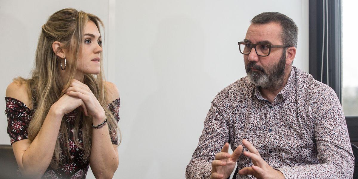 Elodie Trojanowski et Jérome Grandidier, les deux dirigeants de Luxfactory, emmènent une nouvelle fois 16 start-up à Las Vegas, mais cette fois sous pavillon luxembourgeois