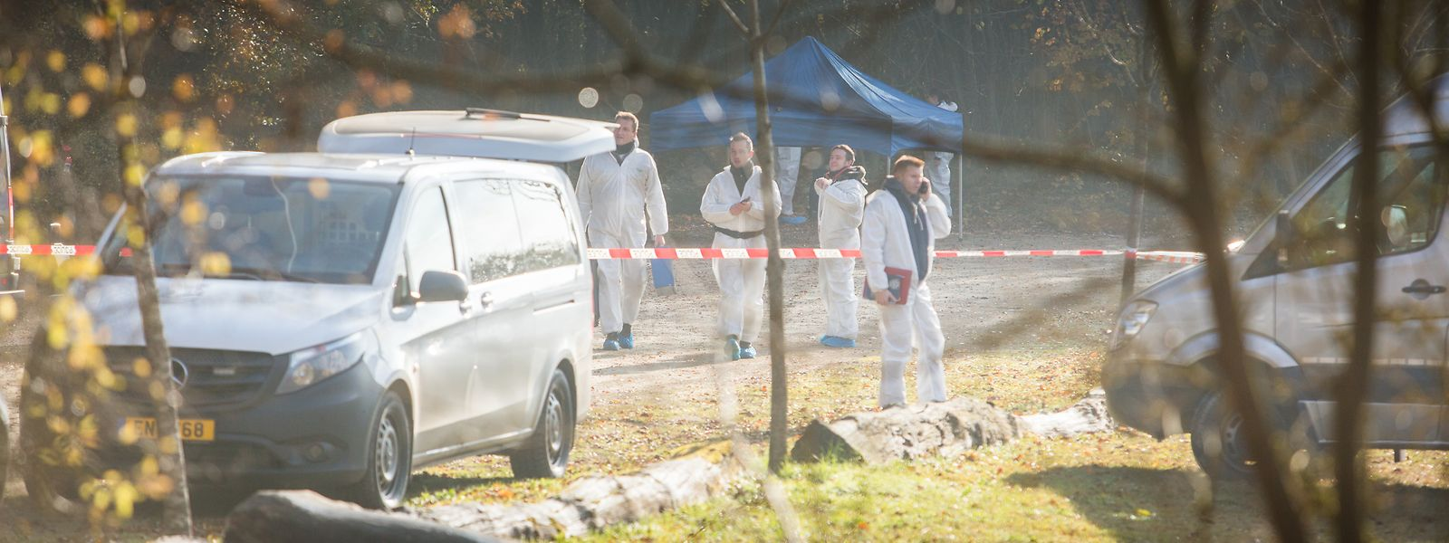 In der Nacht zum 14. November 2016 wird am Fräiheetsbam die Leiche einer 27-jährigen Frau gefunden.