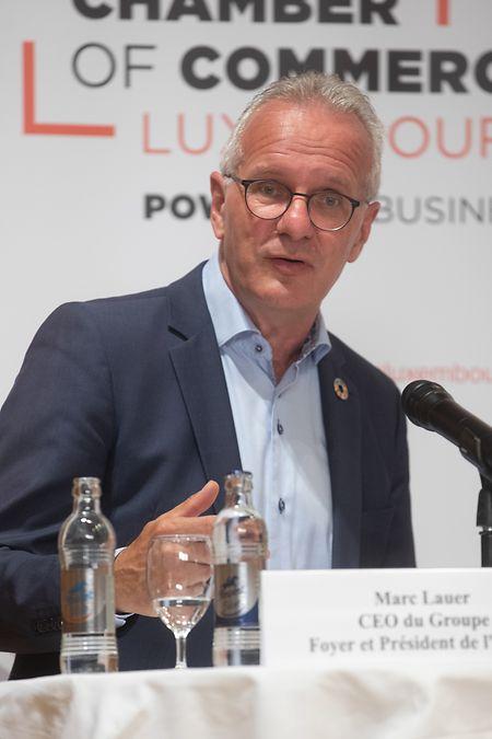 Marc Lauer, CEO der Foyer-Gruppe und Präsident des INDR.