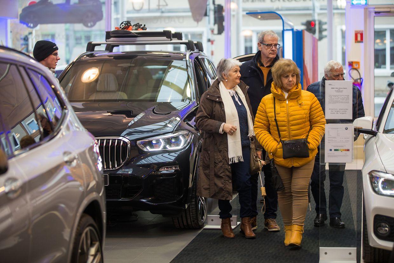 Showcars, flotte Flitzer und viele neue Modelle: Impressionen vom Autofestival 2019.