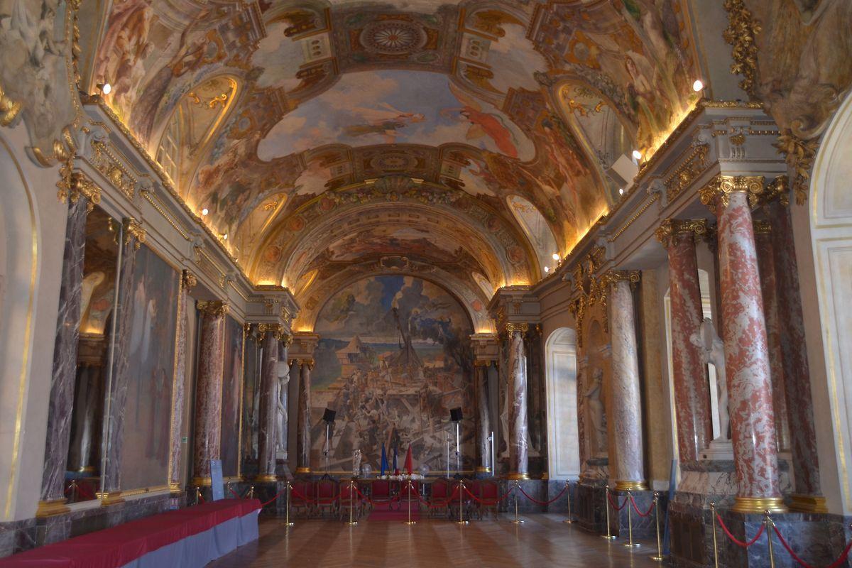 """Die """"Salle des illustres"""" im Capitole zeugt vom Reichtum der Stadt."""