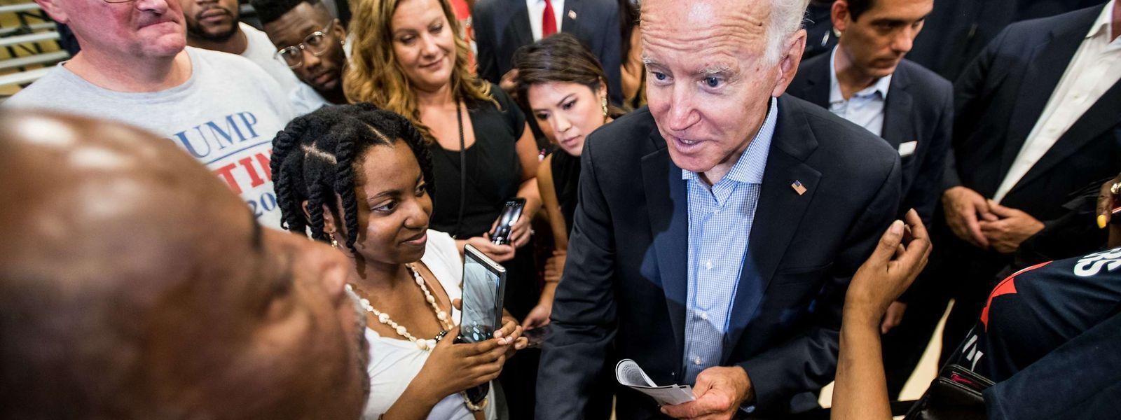 Biden gilt als einer der aussichtsreichsten Kandidat der Demokraten im anstehenden Präsidentschaftswahlkampf.