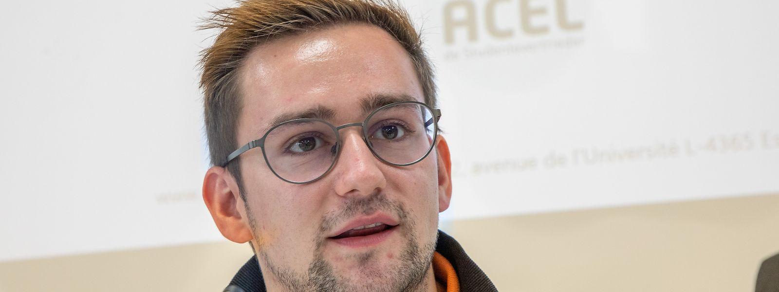 Déjà en proie à des difficultés administratives à l'étranger, les étudiants luxembourgeois doivent aussi faire face aux restrictions liées à la crise sanitaire, regrette Sven Bettendorf.