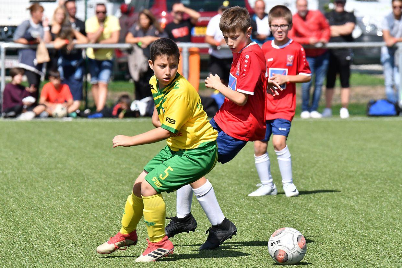 TUS Coblence (en rouge) - FC Schifflange 95