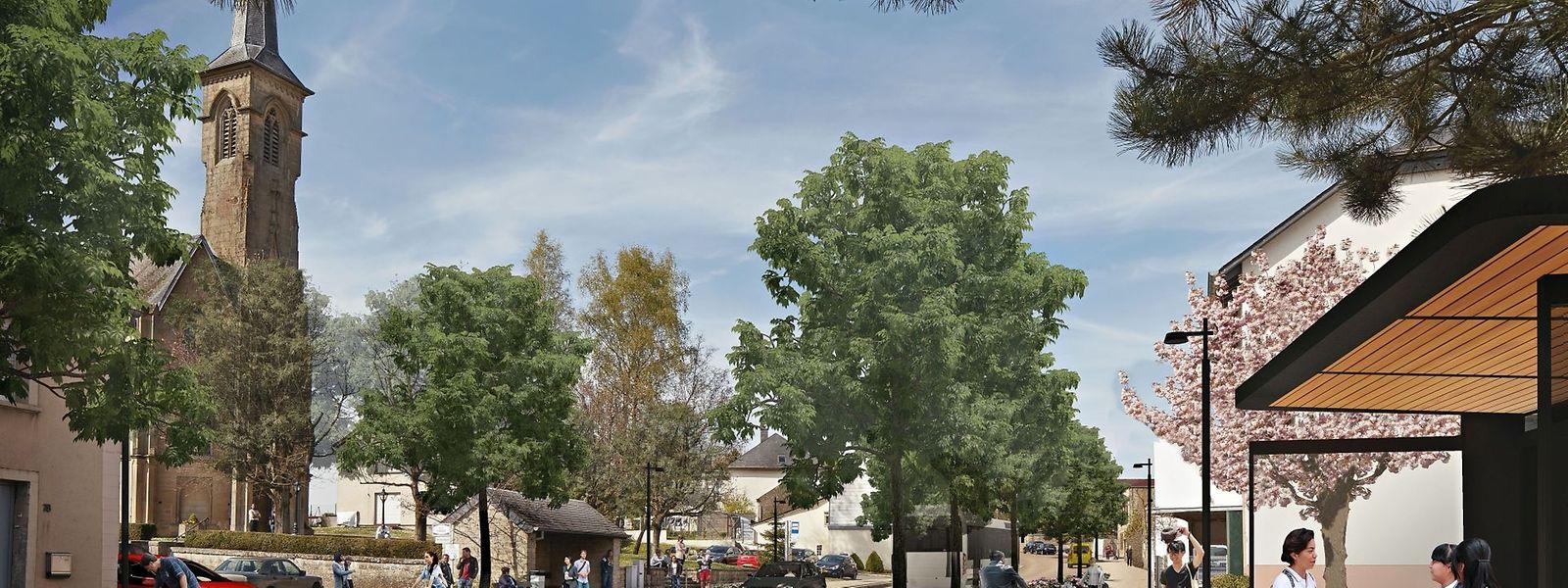 Von Rollingen bis Walferdingen wird man durch die neue parallel zur N7 verlaufende Fahrradpiste vier Kilometer sparen. Der Weg läuft im Seitenraum mit dem Bürgersteig, gegenüber abbiegenden Autofahrern haben die Radfahrer Vorfahrt.