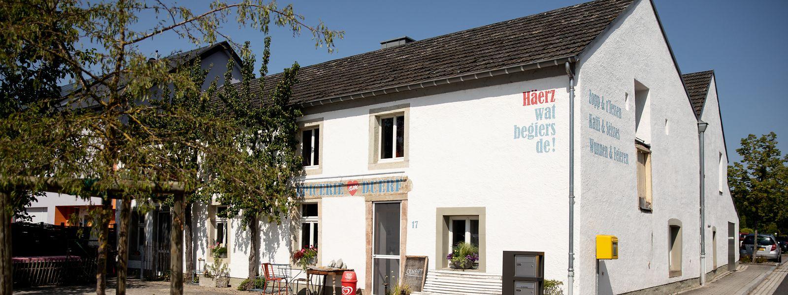"""Die """"Epicerie am Duerf"""" befindet sich mitten in Schrondweiler."""