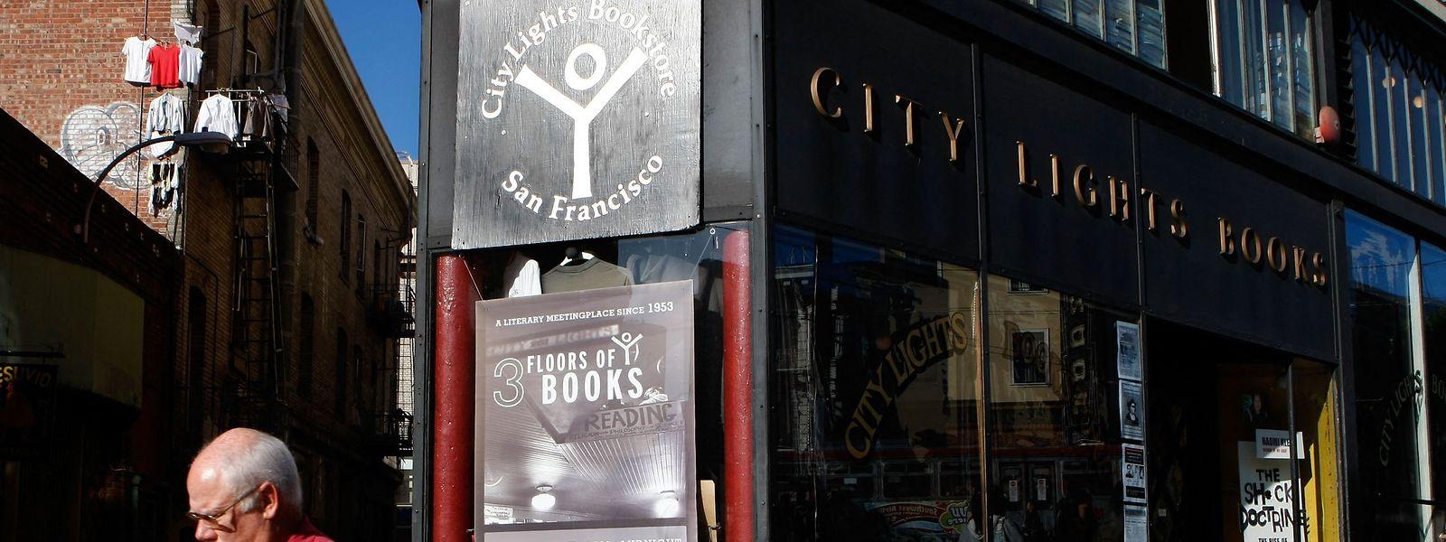 Lawrence Ferlinghetti war Gründer des Buchladen City Lights - noch heute eine berühmte Adresse für Literaturliebhaber in San Francisco.