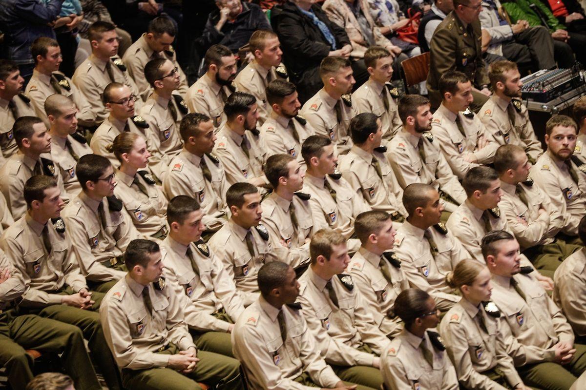 "Messe für die Luxemburger Armee und die ""Police Grand Ducale""."