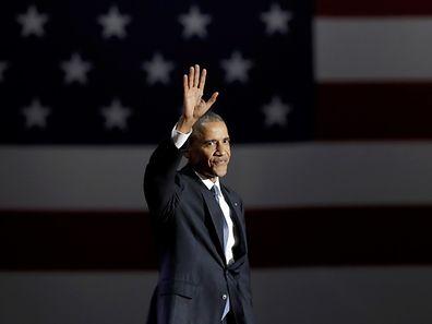 Barack Obama, le départ d'un Elu.
