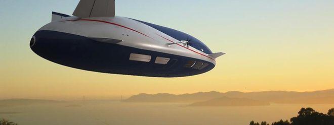Die Luftschiffe der kalifornischen Firma Aeros sind für den Transport von Standard-Containern und Stückgut bis zu 250 Tonnen Gewicht ausgelegt.