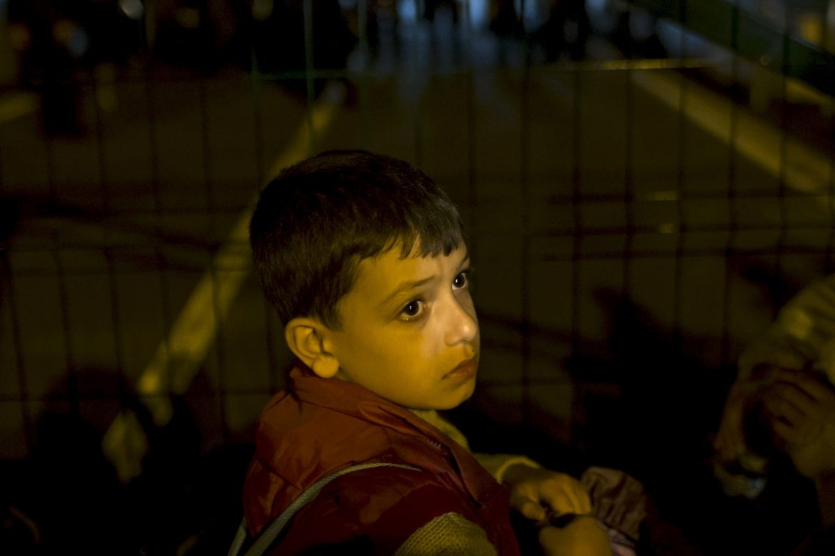 An der ungarisch-serbischen Grenze ist ein Durchkommen vorerst unmöglich.