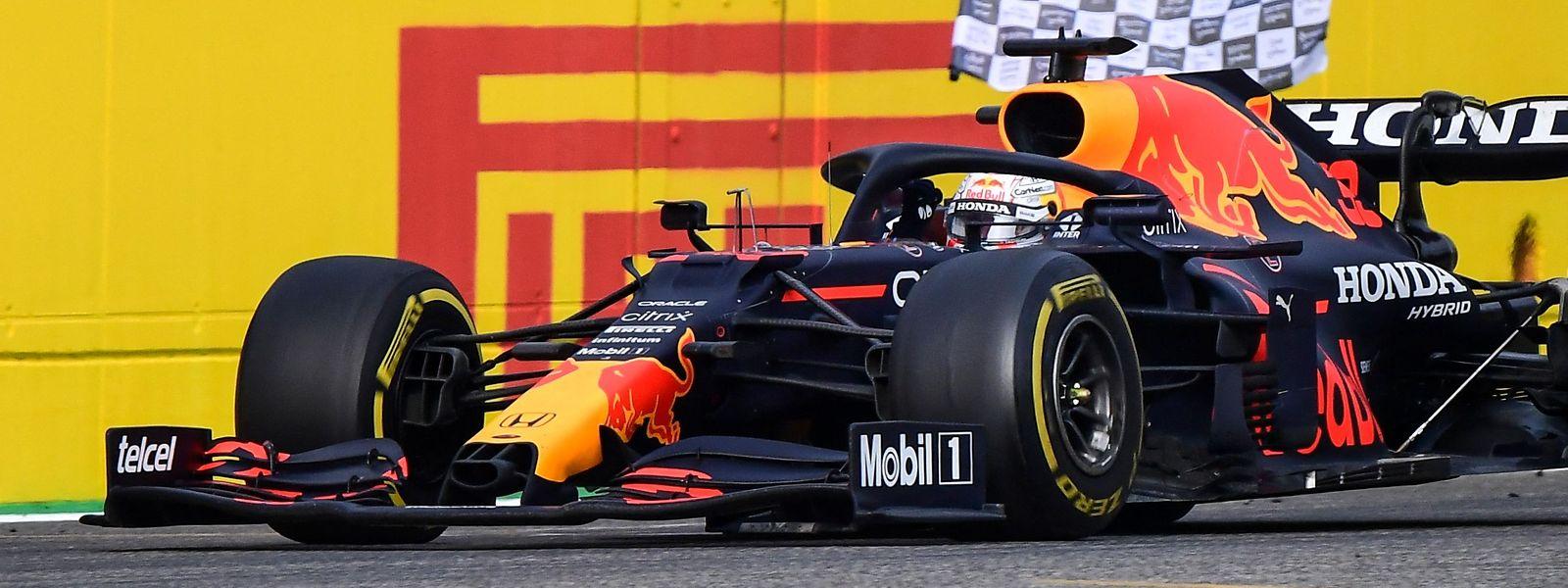 Elfter Karrieresieg für Max Verstappen.