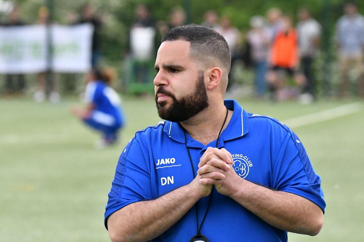 Daniel Nunes Ferreira, l'entraîneur du SC Bettembourg.