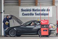 24.3. TC / Wilwerwiltz / Kontrollstation / SNCT / Fahrzeugkontrolle Foto:Guy Jallay