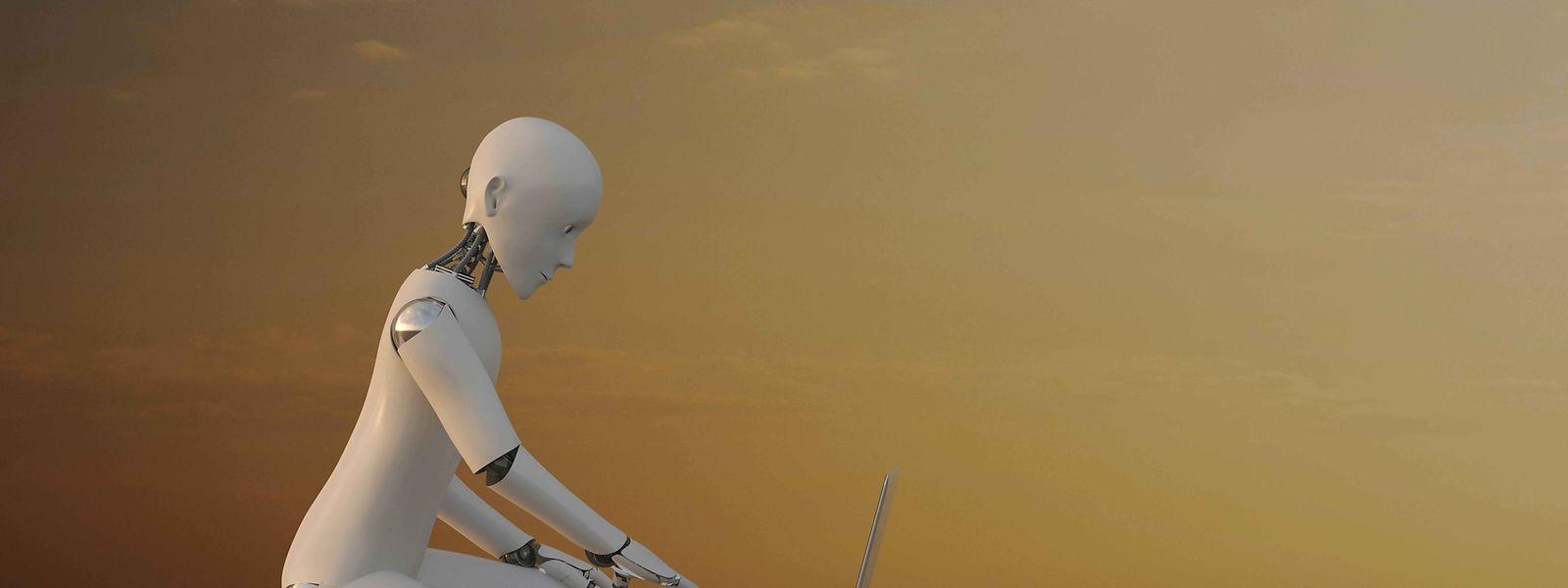 Schreibt der Roboter oder ein Mensch?Automatisierte Meinungsmache im Netz lässt sich mit etwas Mühe oft enttarnen.