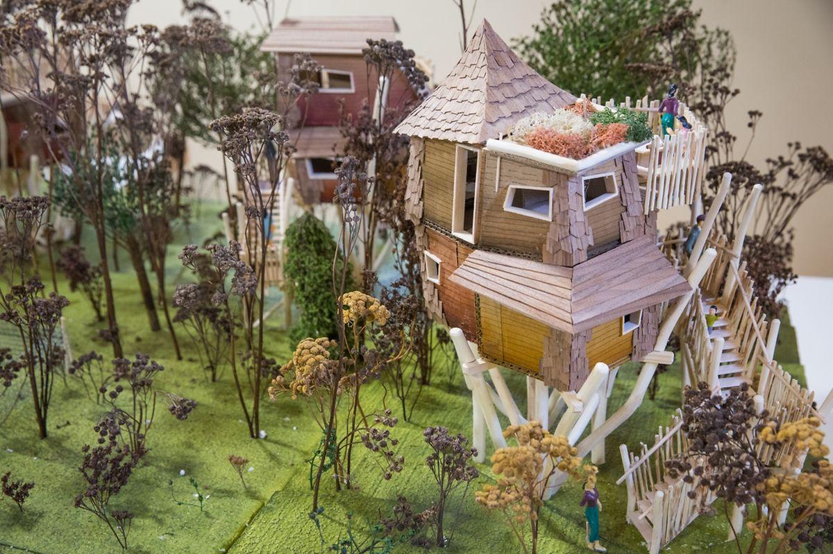 So werden die übrigen Baumhäuser aussehen.