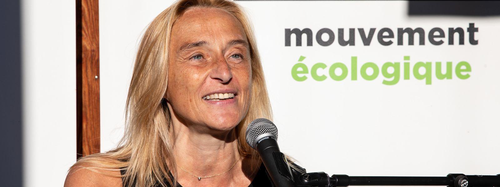 """Mouveco-Präsidentin Blanche Weber gibt die Hoffnung nicht auf, dass die Biodiversitäts- und Klimakrise sich auf ein """"erträgliches Maß begrenzen lässt""""."""