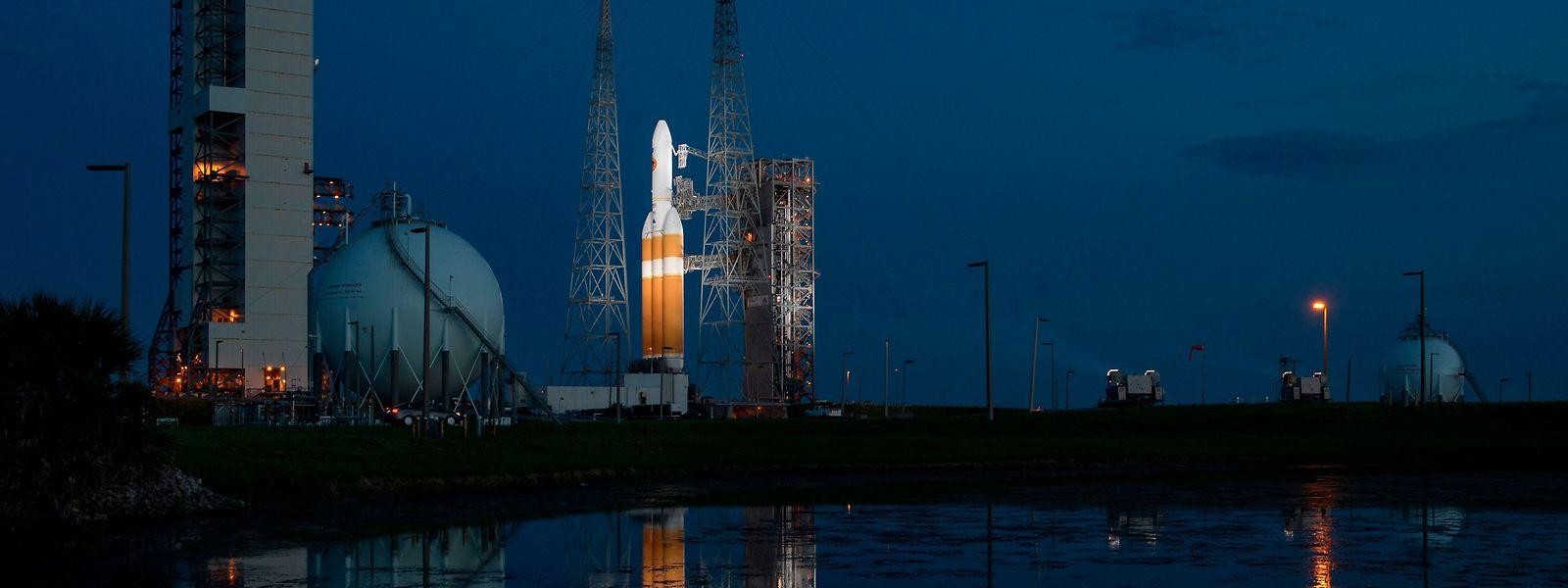 """Die US-Sonnensonde """"Parker Solar Probe"""" soll nun am Sonntagmorgen von Cape Canaveral in Florida abheben"""