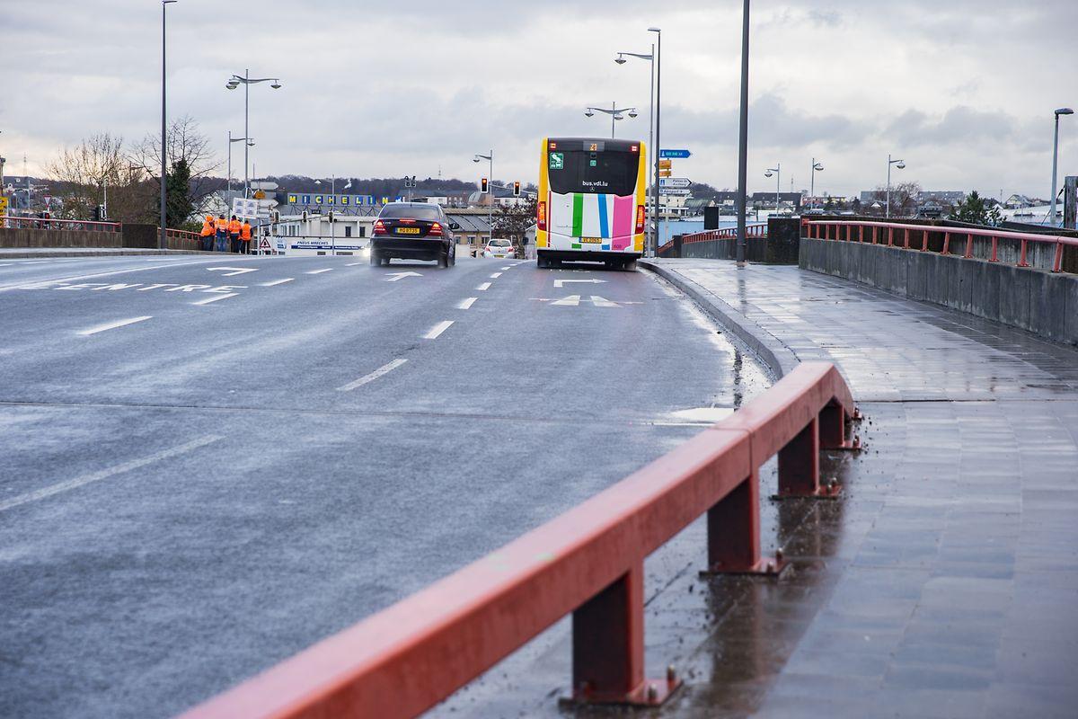 Hinter dem Pont Buchler, auf Bonneweger Seite, wird die Tram späterhin direkt auf die neu zu errichtende N3 führen. Diese wird die Route de Thionville als Hauptverkehrsachse ersetzen. Letzere kann anschließend verkehrsberuhigt zurückgebaut werden.
