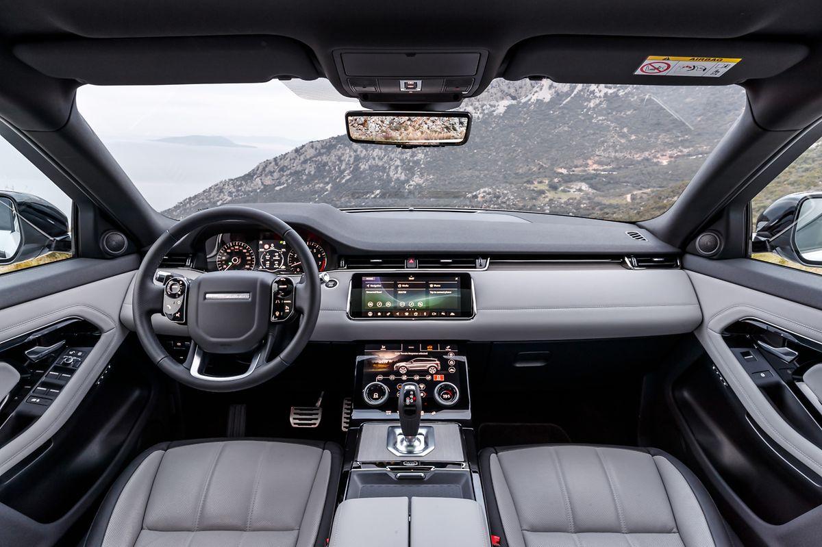 Hochwertig und voller Technik: Auch der Innenraum verspricht Qualität.