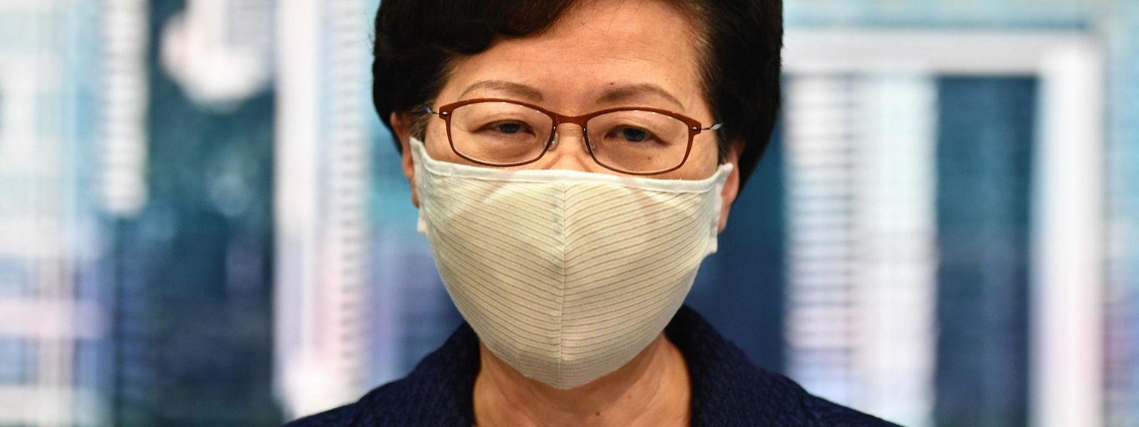 Carrie Lam, Regierungschefin in Hongkong.