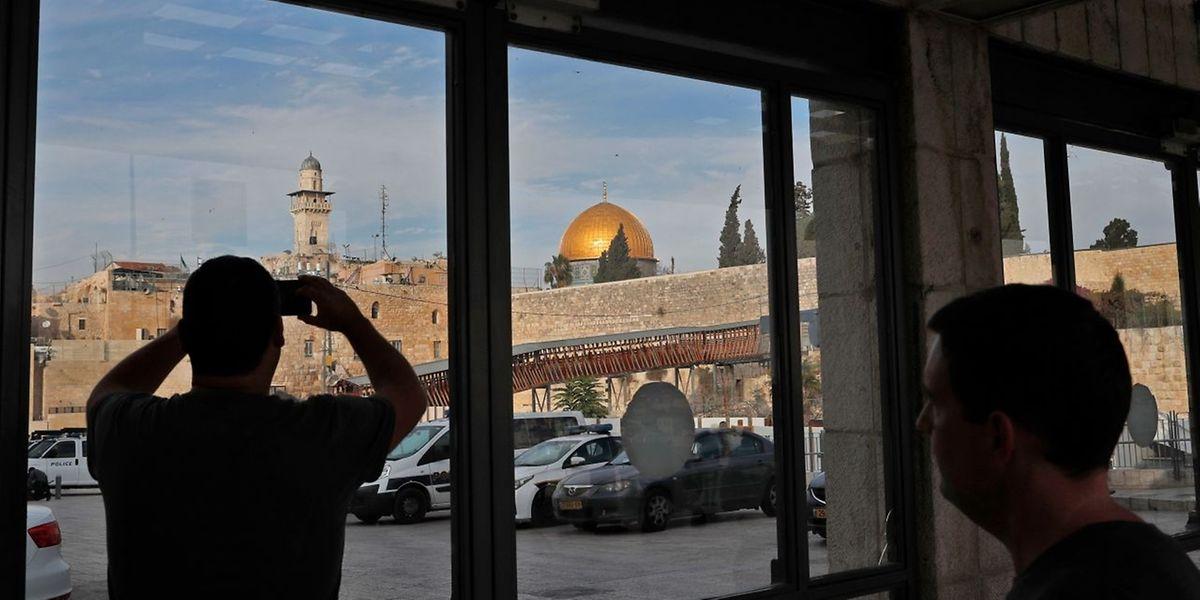 Jerusalem wird vom Staat Israel als seine unteilbare Hauptstadt beansprucht.
