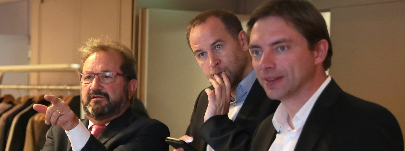 En cas d'élection dimanche de Gast Gibéryen à Strasbourg, Fred Keup (à droite) serait assermenté comme nouveau député ADR, ce dernier s'étant classé troisième dans le Sud.