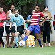 26 Fussball BGL Ligue Ligapokal zwischen F91 Dudelingen und CS Fola Esch in Hostert am 30.07.2017 Stefan LOPES (17 Fola)